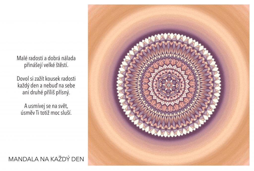 Mandala Podstata velkého štěstí
