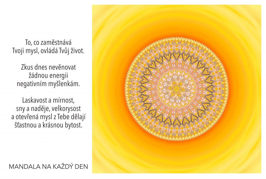 Mandala Ovládni myšlenkami svůj život
