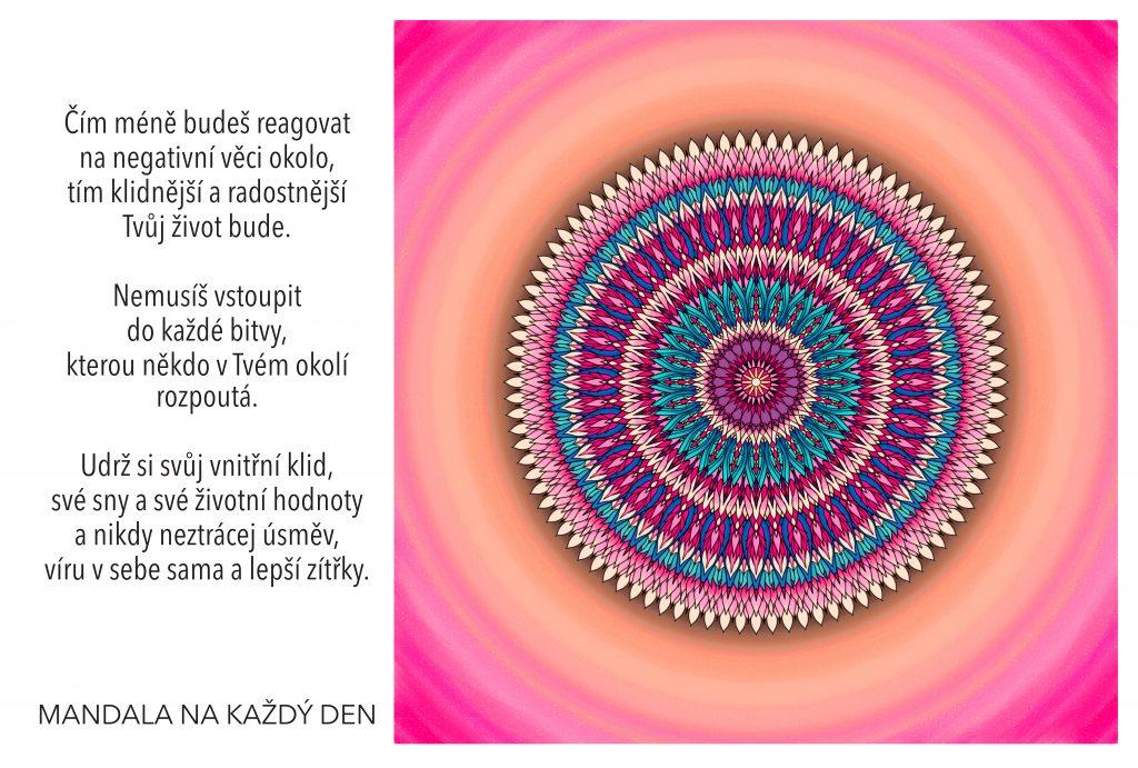 Mandala Vytvoř si klidnější a radostnější život