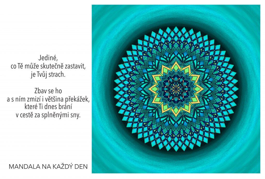 Mandala Nenech si vzít své sny