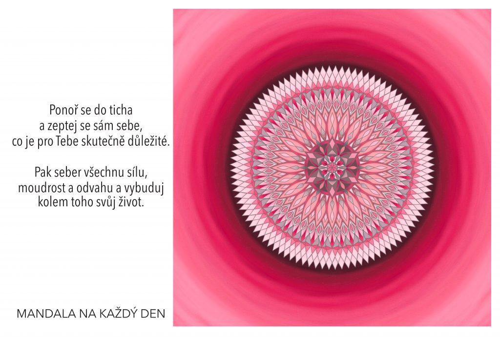 Mandala Dej životu smysl