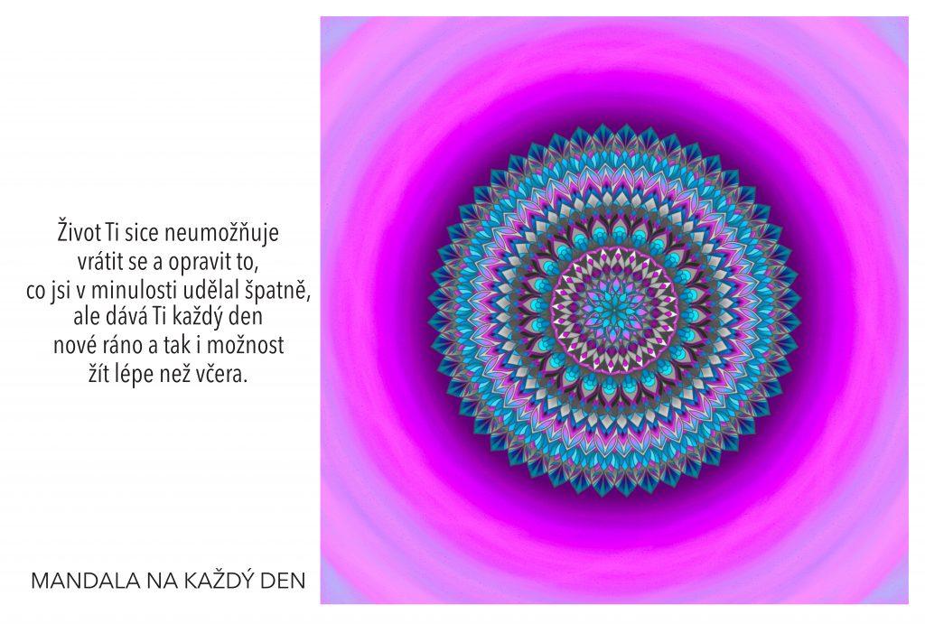 Mandala Dar nového dne a nových šancí