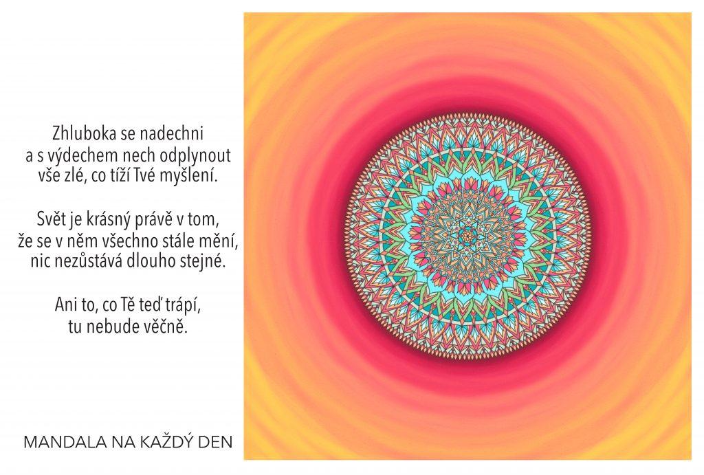 Mandala Odfoukni vše zlé pryč