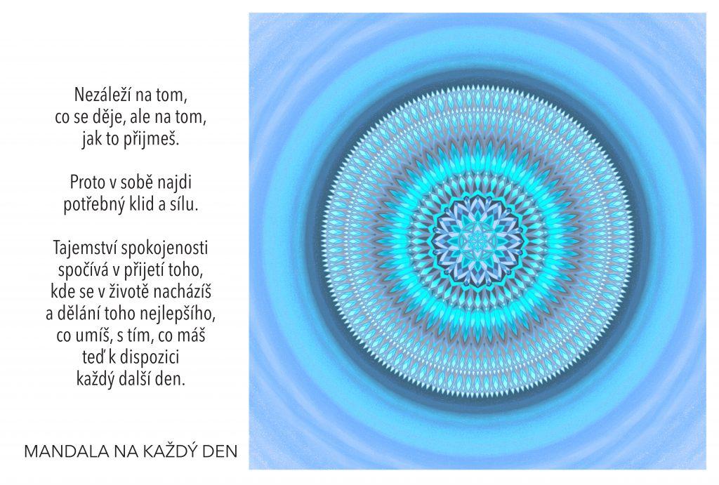 Mandala Najdi svůj vnitřní klid a sílu
