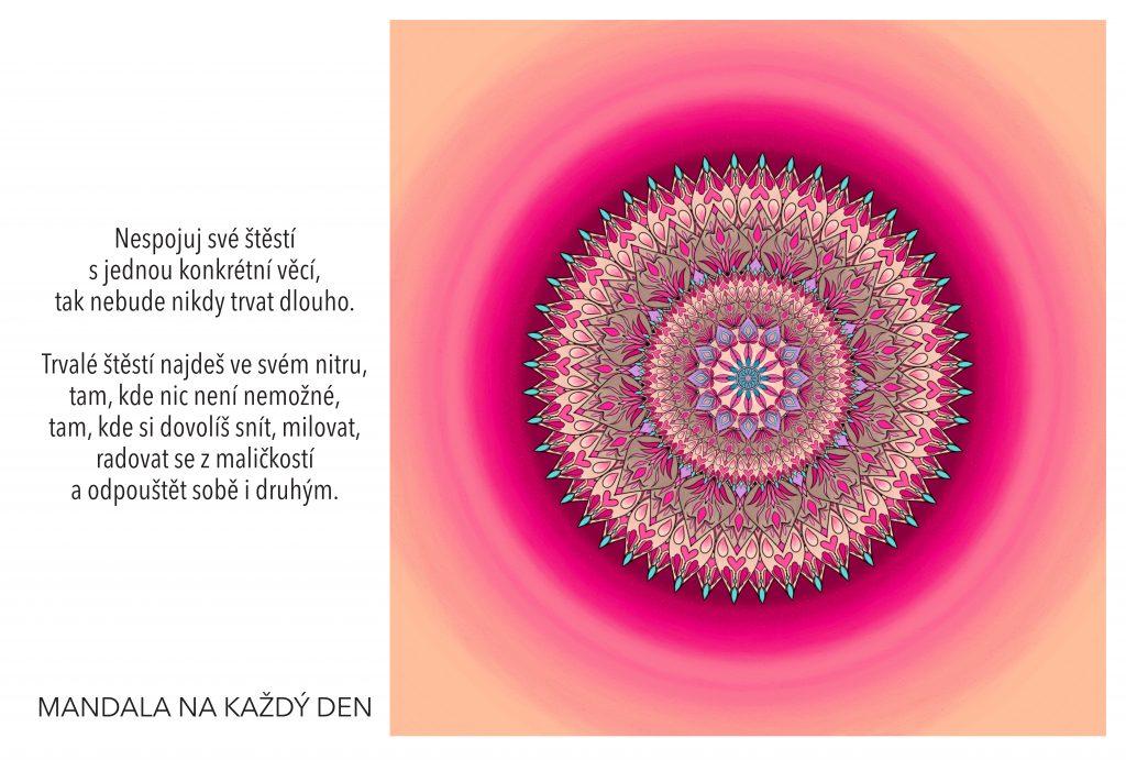 Mandala Objev svoje štěstí