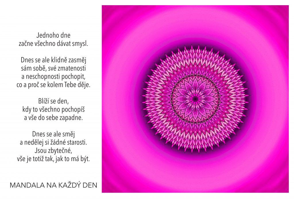 Mandala Nedělej si žádné starosti