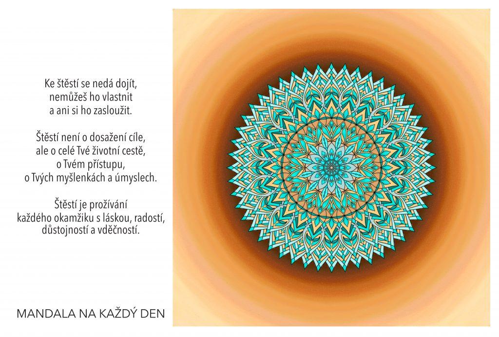 Mandala Odhal tajemství skutečného štěstí