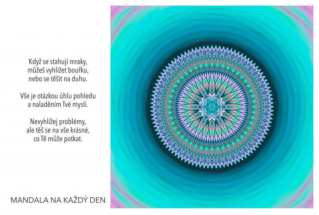 Mandala Pozitivní naladění mysli