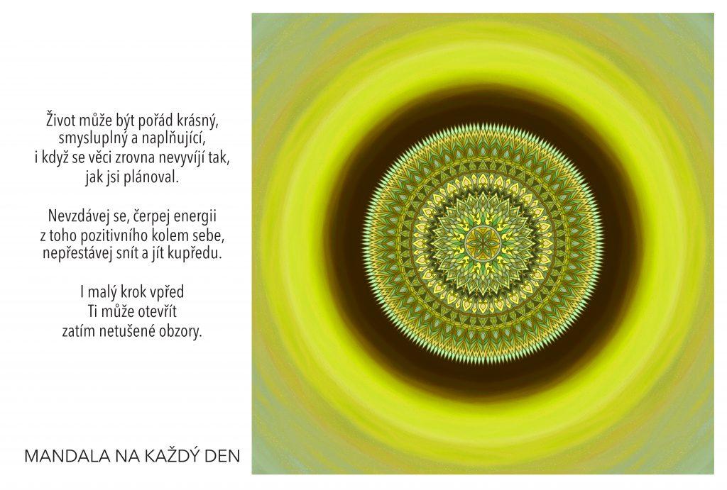 Mandala Najdi svému životu nový smysl