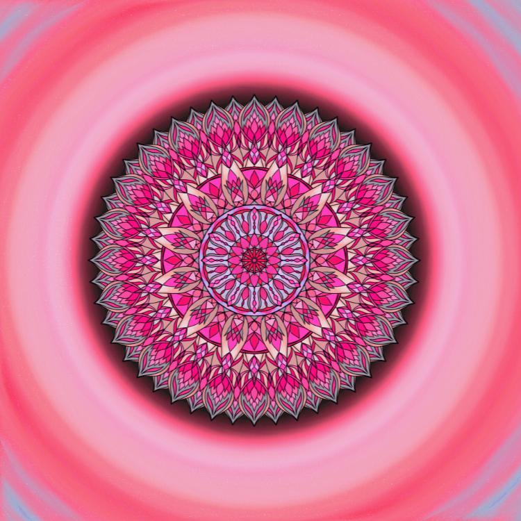 Mandala Nenech se paralyzovat strachem